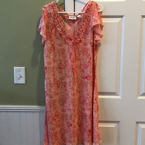 Silky cool nigh gown
